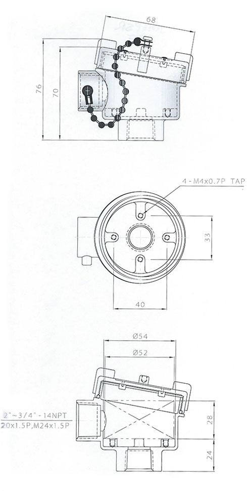 1016SPR Connection Head
