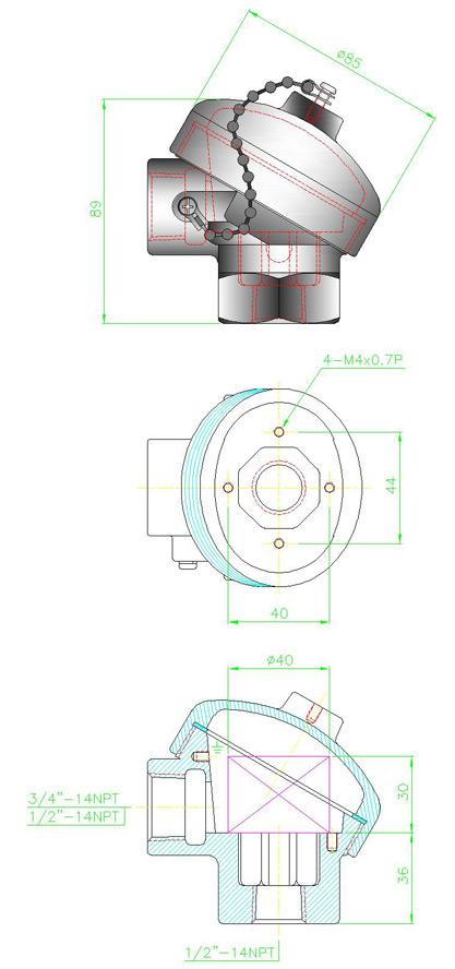 PCL Diagram